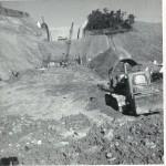 Construction of Blowering Dam Spillway 1967