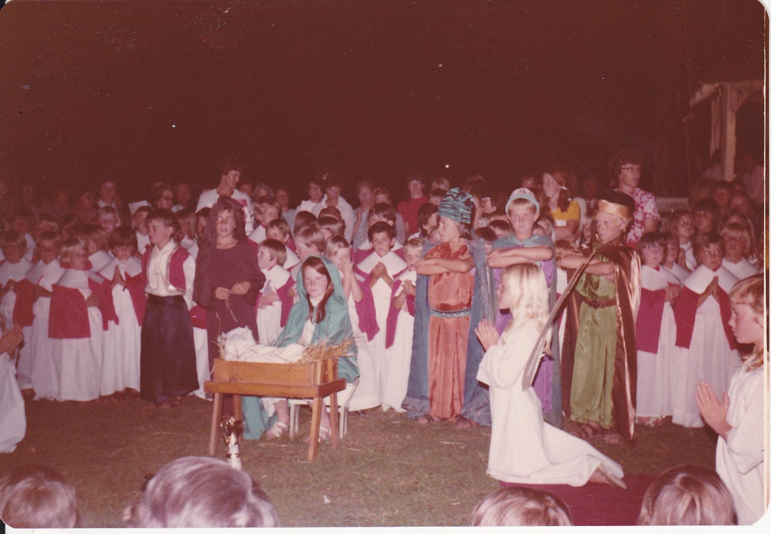 XMAS PAGEANT CIRCA 1976
