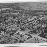 Aerial Photo of Tumut Early 1900s