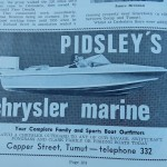 Pidsley's Marine Advertisement