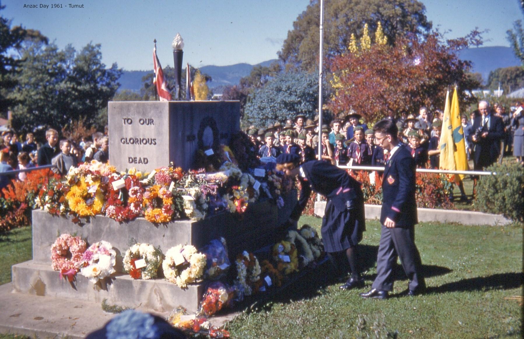 ChrisBonnorANZAC Day2 1961