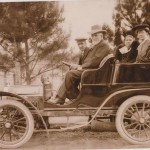First Car To Visit Tumut – 1904