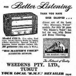 Weedens Ad 1950