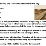 Railway To Come To Tumut – 1886