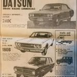 Tumut Car Dealer Advertisements – 1972