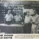 EA Bourne Staff 1952
