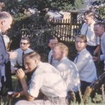 Tumut High School Staff Christmas Party 1961