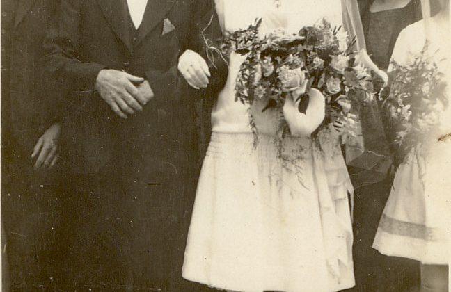Gilmore Wedding 1927